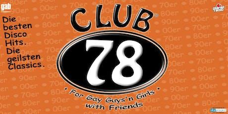 Club 78 Tickets