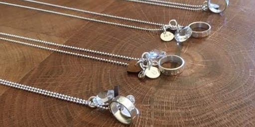 Silver Charm Necklace workshop