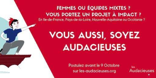 Les Audacieuses : petit déjeuner d'information à La Ruche Saint-Germain
