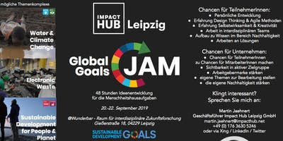 Global Goals Jam Leipzig 2019 - Opening Event