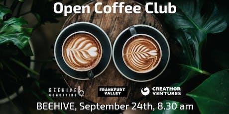 Open Coffee Club (OCC) Frankfurt - September edition Tickets