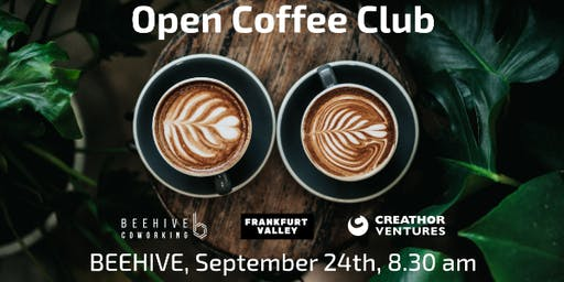 Open Coffee Club (OCC) Frankfurt - September edition