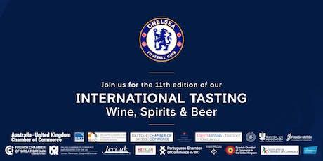 International Tasting: Wine, Spirits & Beer tickets