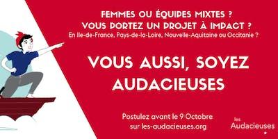 Les Audacieuses : réunion d'information à La Ruche Bordeaux