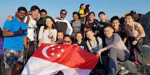 {Hiking Series} Malaysia - Mount Datuk Sunrise Hike + Malacca food for Beginners