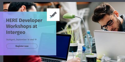 HERE API Workshops at Intergeo: September 18th and 19th