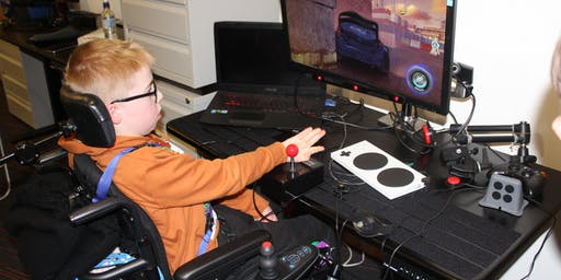 Everyone Can Child Gaming Session
