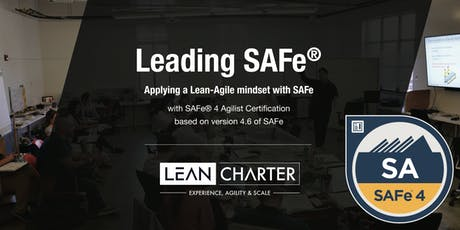 Leading SAFe® 4.6 – Scaled Agilist Certification (Weekend Training) tickets