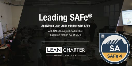 Leading SAFe® 4.6 – Scaled Agilist Certification (Weekend Training)