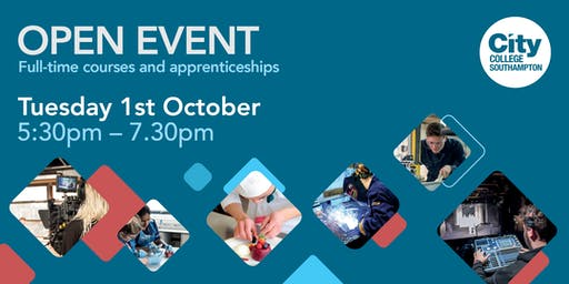 City College Southampton Open Event -1st October
