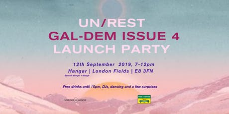 GAL-DEM PRINT ISSUE 4 LAUNCH PARTY tickets