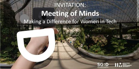 Meeting of Minds - Making a Difference for Women in Tech (Session 1) tickets