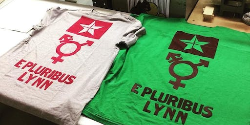 Printing T-Shirts (and other fabric things) on the Letterpress