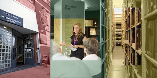 Open House 2019 at London Metropolitan Archives