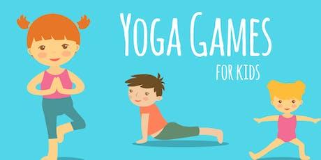 Yoga Activities & Games Workshop (to teach little ones)  tickets