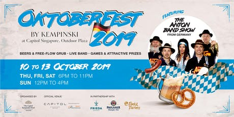 Oktoberfest by Kempinski 2019 tickets