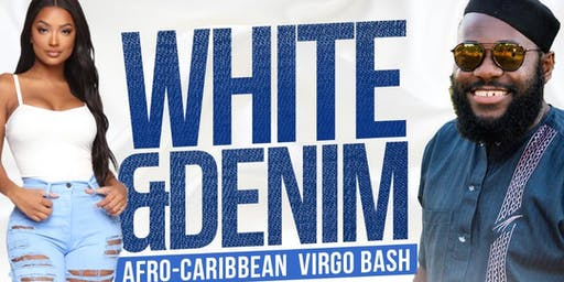 White & Denim AfroCaribbean Virgo Bash