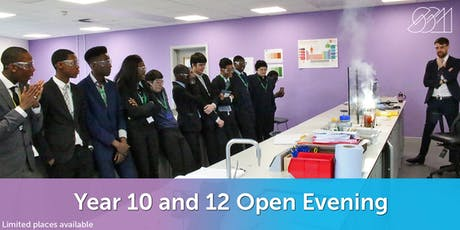 Year 10 and 12 Open Evening - Sir Simon Milton Westminster UTC  tickets