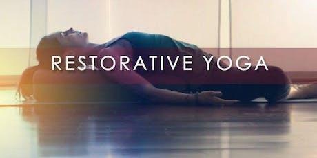 Mindful Restorative Yoga tickets