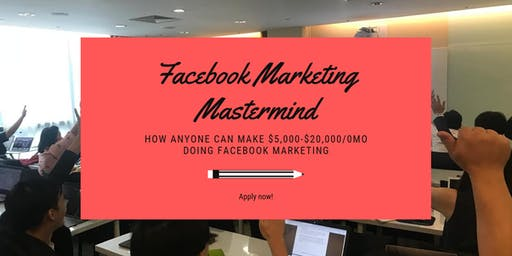 FREE Facebook Marketing and Branding Mastermind (Limited Tickets Left!)