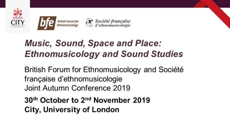 Music, Sound, Space and Place: Ethnomusicology and Sound Studies tickets