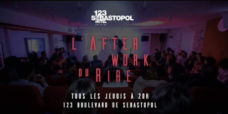 L'Afterwork du Rire tickets