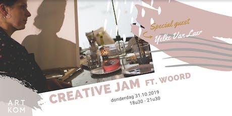 Creative JAM ft. Woord tickets