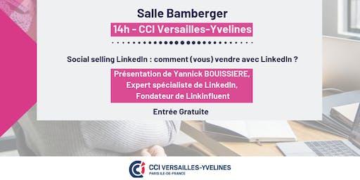 """Atelier """"Social selling LinkedIn : comment (vous) vendre avec LinkedIn ?"""""""