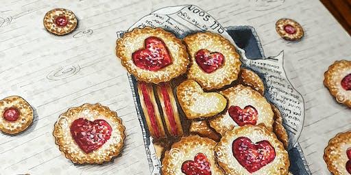 Food Art Illustration Workshop  (in Russian)