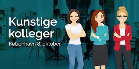 Kunstige kolleger KBH 8. oktober tickets