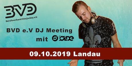 BVD e.V. DJ-Meeting in Landau / Pfalz Tickets