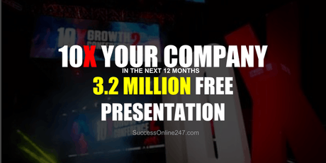 10X Your Company In The Next 12 Months - Stockholm tickets
