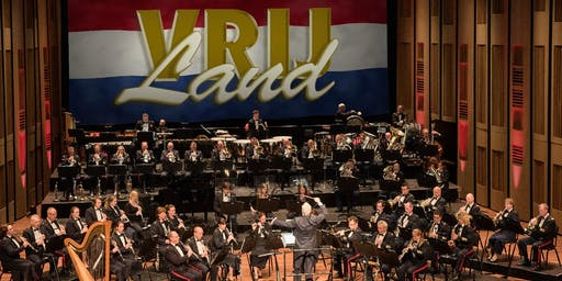 Koninklijke Militaire Kapel 'Johan Willem Friso' Thema 'Vrij land' (Theater