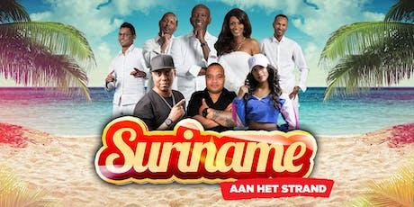 SURINAME AAN HET STRAND - Zondag 25 augustus 2019 tickets