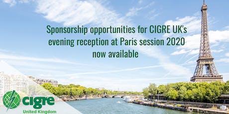 CIGRE UK Reception - Paris Session 2020  billets