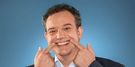 René Steinberg: Freuwillige vor – wer lacht, macht den Mund auf! Tickets