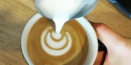 Beginners Latte Art Class tickets