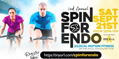 2nd Annual SPIN FOR ENDO!!!! tickets