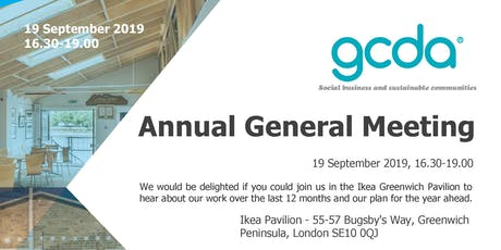 GCDA 2019 Annual General Meeting tickets