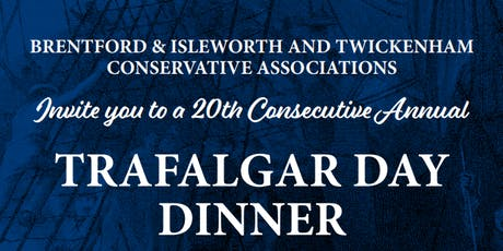 Trafalgar Day Dinner tickets