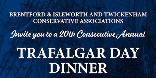 Trafalgar Day Dinner