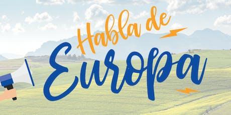Habla de Europa en tu ciudad entradas