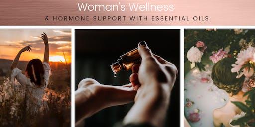 Woman's Wellness & Hormone Harmony with Essential Oils - Make & Take