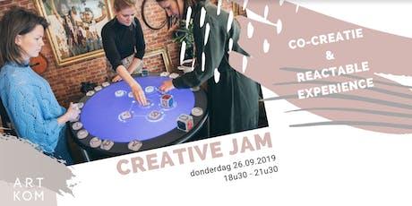 CREATIVE JAM ft. Reactable Experience tickets