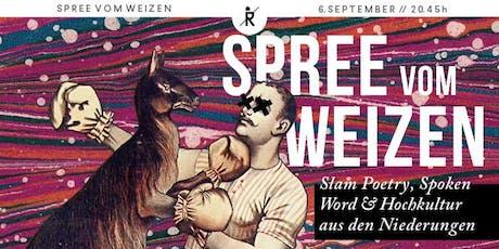 Spree vom Weizen Tickets
