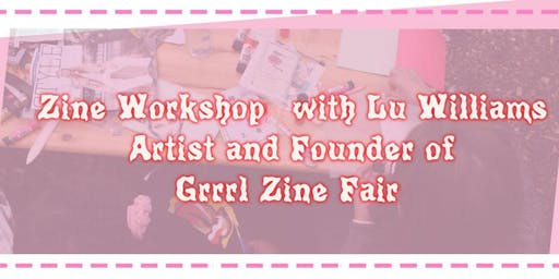 Grrrl Zine Workshop at De Montfort University