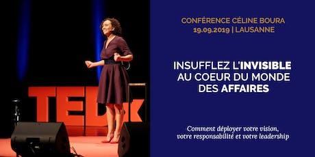 """Conférence """"Insuffler l'invisible au coeur du monde des affaires"""" tickets"""