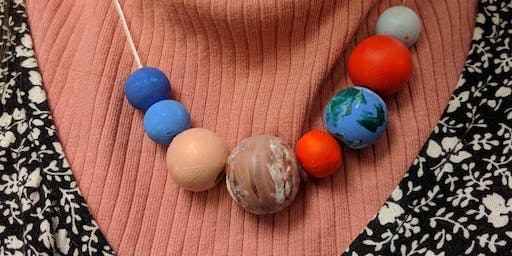 Solar System Keyrings and Necklaces