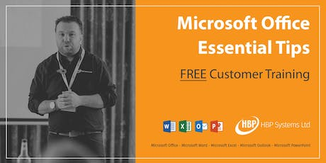 Microsoft Office Essential Tips tickets
