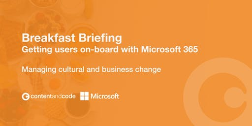 Getting Users On-Board with Microsoft 365